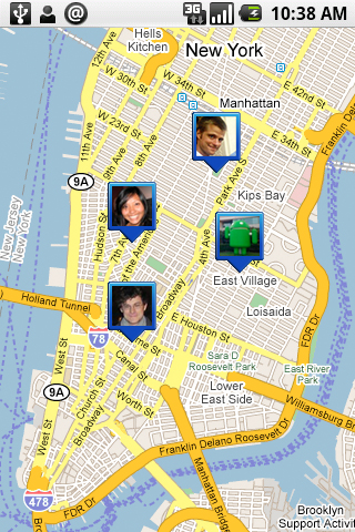 Google Latitude's placement of peoples' locations on an actual map was too creepy for most