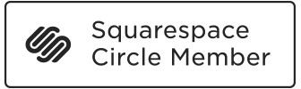 Squarespace Circle Member badge
