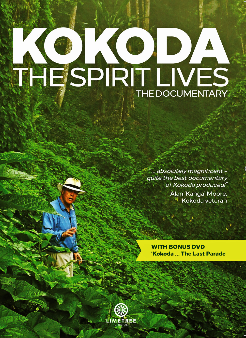 Limetree Studios produced the acclaimed feature-length documentary, 'Kokoda ... the Spirit Lives',  commemorating the 75th anniversary of the WWII Kokoda campaign, the battles that saved Australia.  Check out the trailer here  - The DVD of KOKODA, THE SPIRIT LIVES is available via the Australian War Memorial start and website. Order here