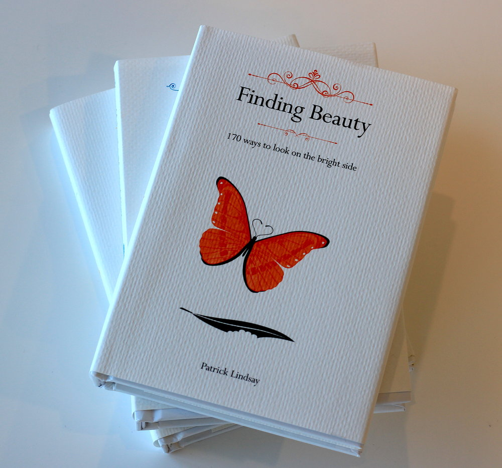 My latest inspirational book,  Finding Beauty - 170 ways to look on the bright side,  is now in all good bookstores, in Big W and gift stores, or via the Store on this website. Hope you enjoy it and it brings happiness and light ...