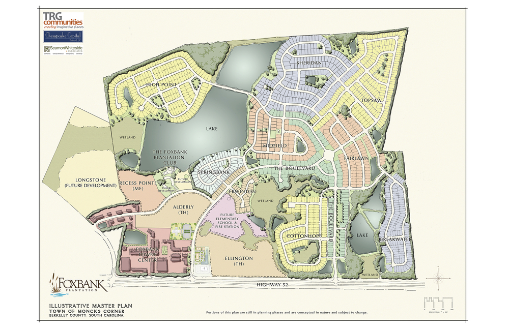 Foxbank Site Plan