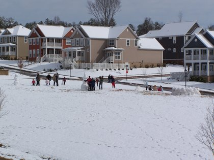 Carilion Snow Day
