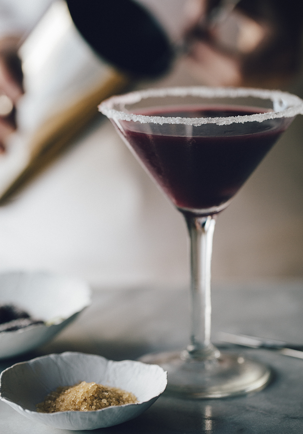the mulberry martini