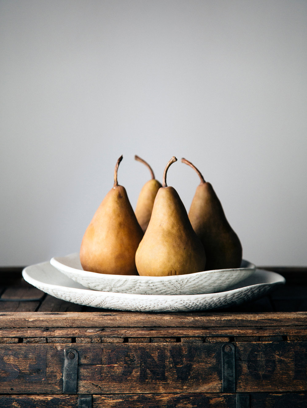 "PEARS    Size: 14.992"" x 19.896  Price: $260   available now on saatchiart.com"