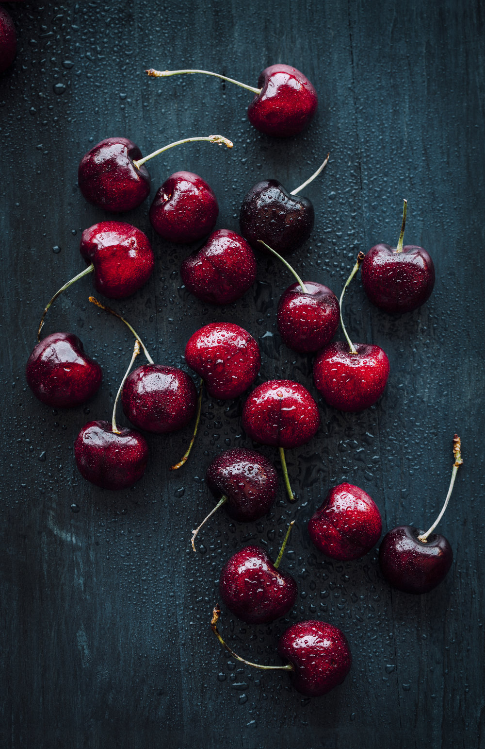 "CHERRIES    Size: 12.971"" x 20""  Price: $260   AVAILABLE NOW ON SAATCHIART.COM"