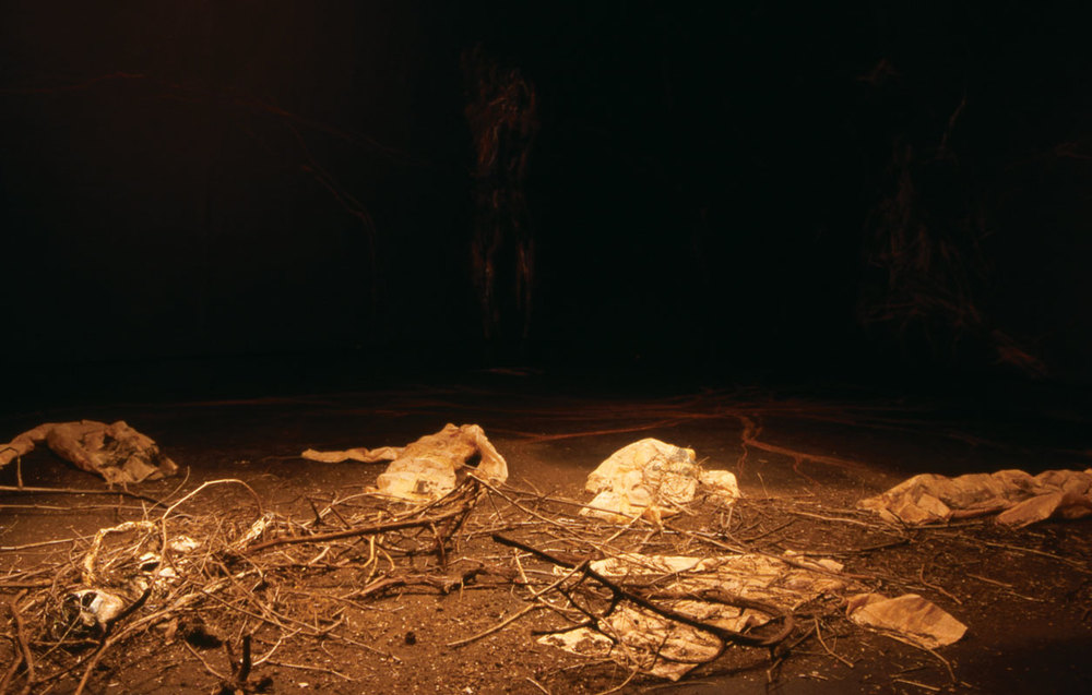 Reassembled Memories (view #4), 2006, mixed-medium installation
