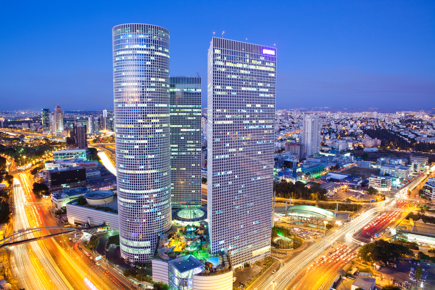 Israeli city of Tel Aviv is a hotbed of innovative technology startups (Source iStock)