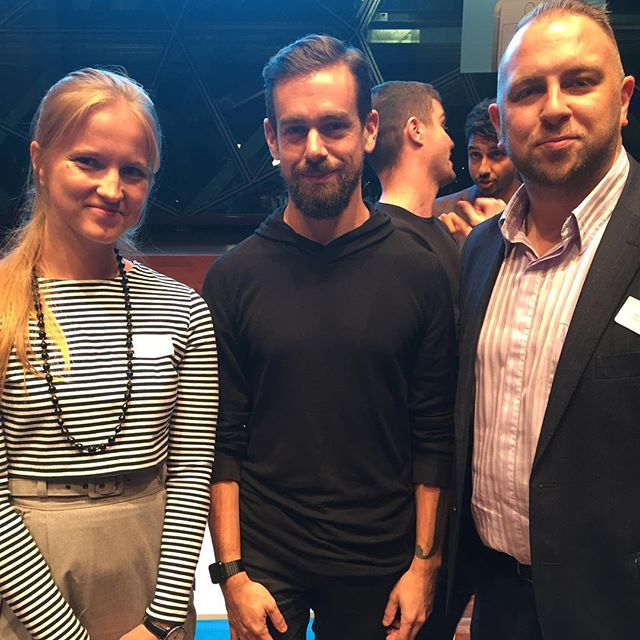 #privileged to meet @jack the #founder of @Twitter and @Square after the @squareau event in #melbourne #thebest - welcome to our lovely city!