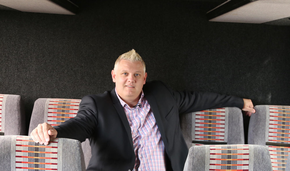 sleepbus Founder Simon Rowe  (Image: supplied)