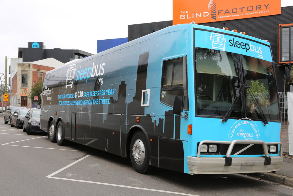 sleepbus has a very positive and innovative brand to help raise awareness and resonate with audiences  (Image: supplied)