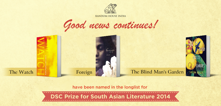 Random House India's announcement of good news for its authors.