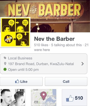 Nev the Barber, Durban KZN