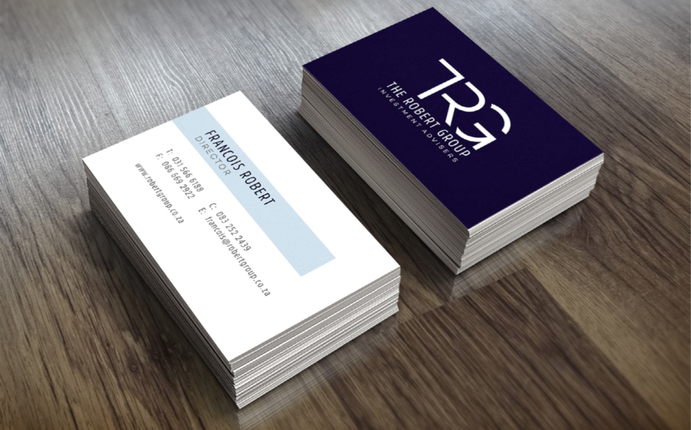 TRG Business Cards Design
