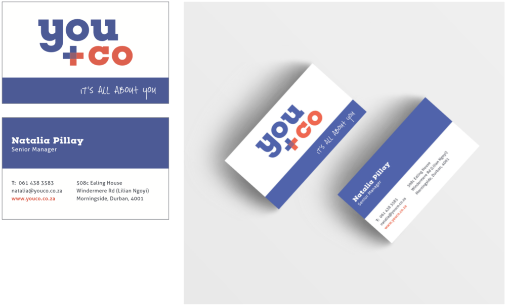 YouCo Holdings Business Card Design