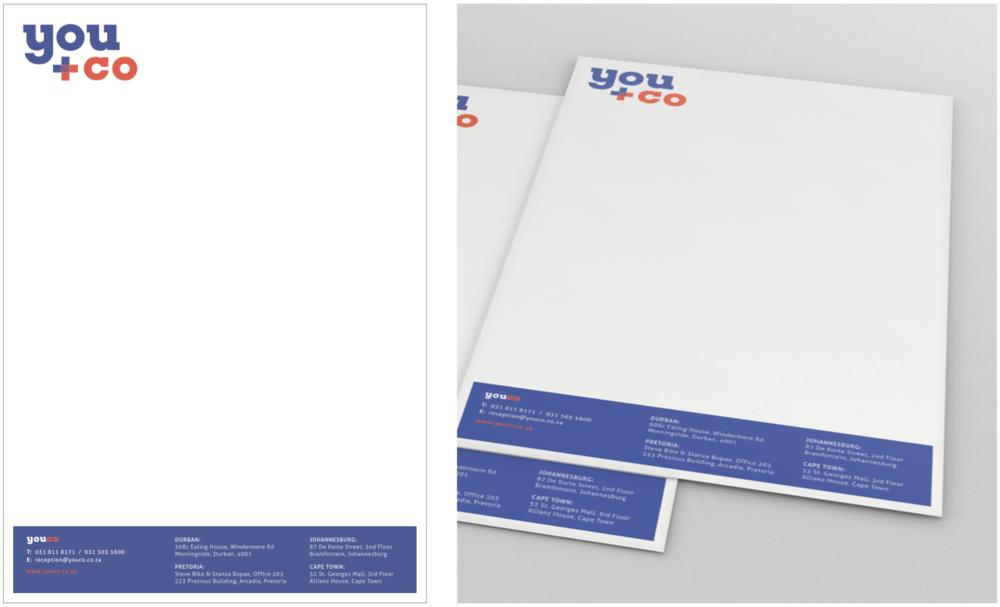 YouCo Letterhead Design