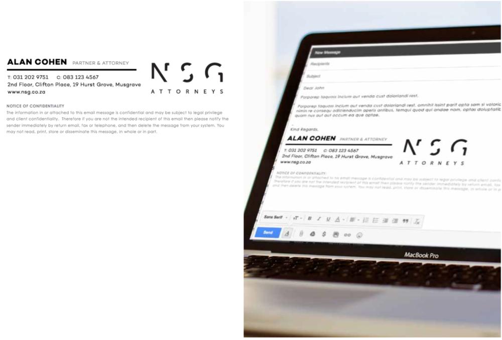 NSG Email Signature