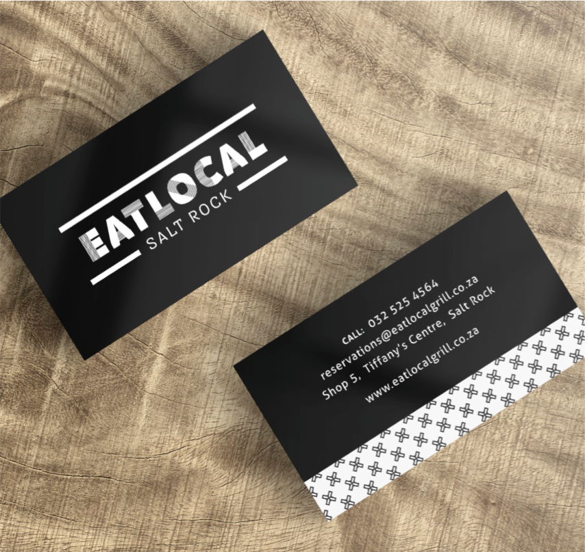 Eat Local Business Cards