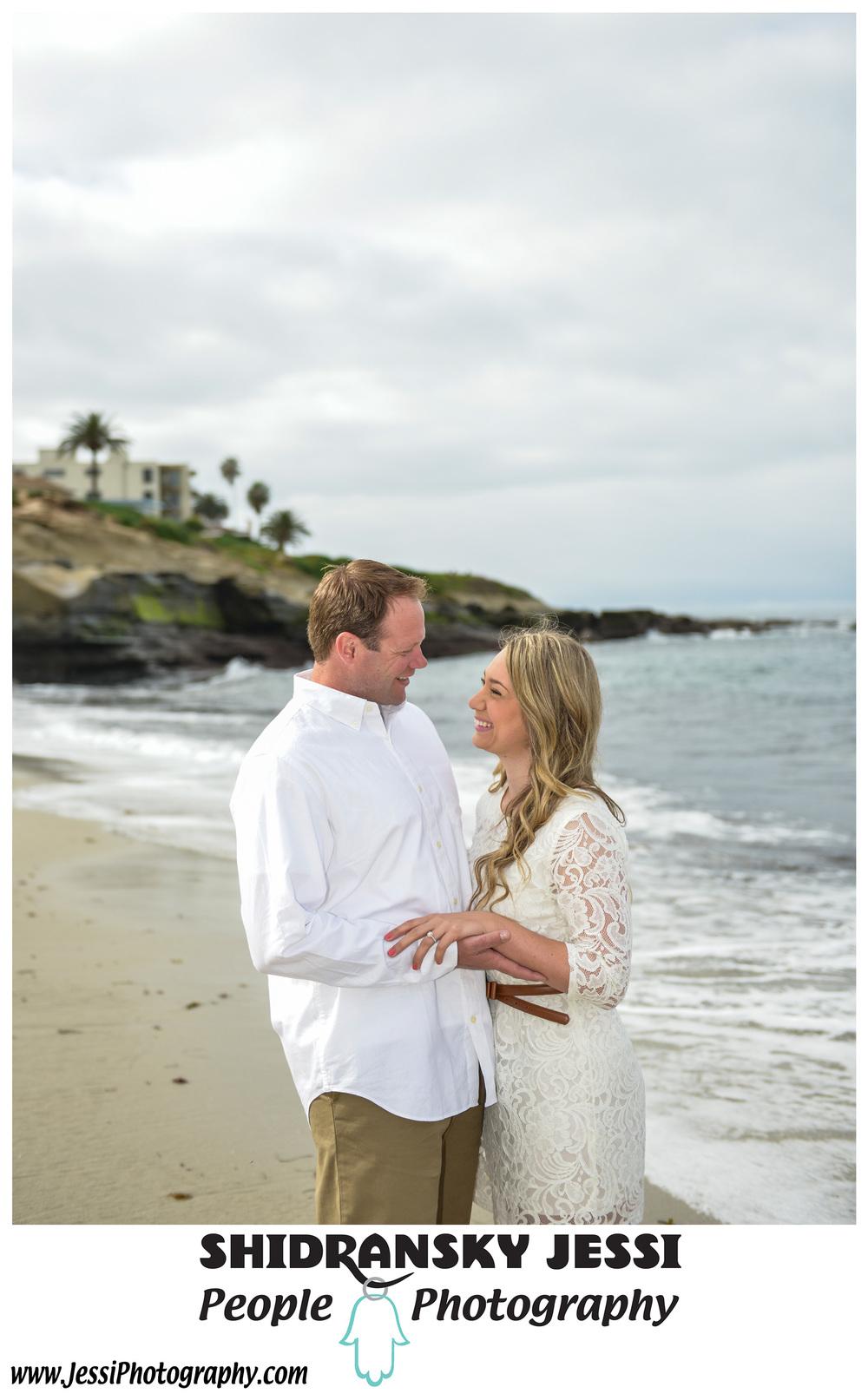 Malibu Los Angeles engagement photography