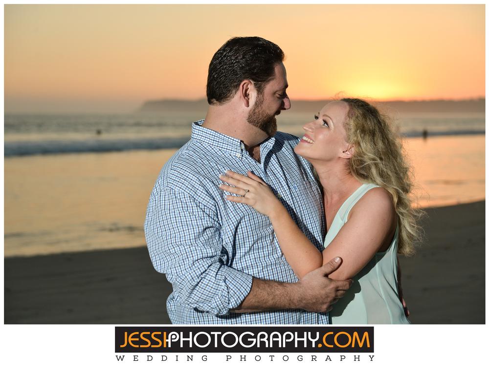 Engagement session coronado beach.