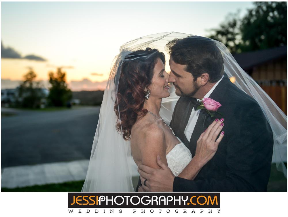 Sunset wedding san diego