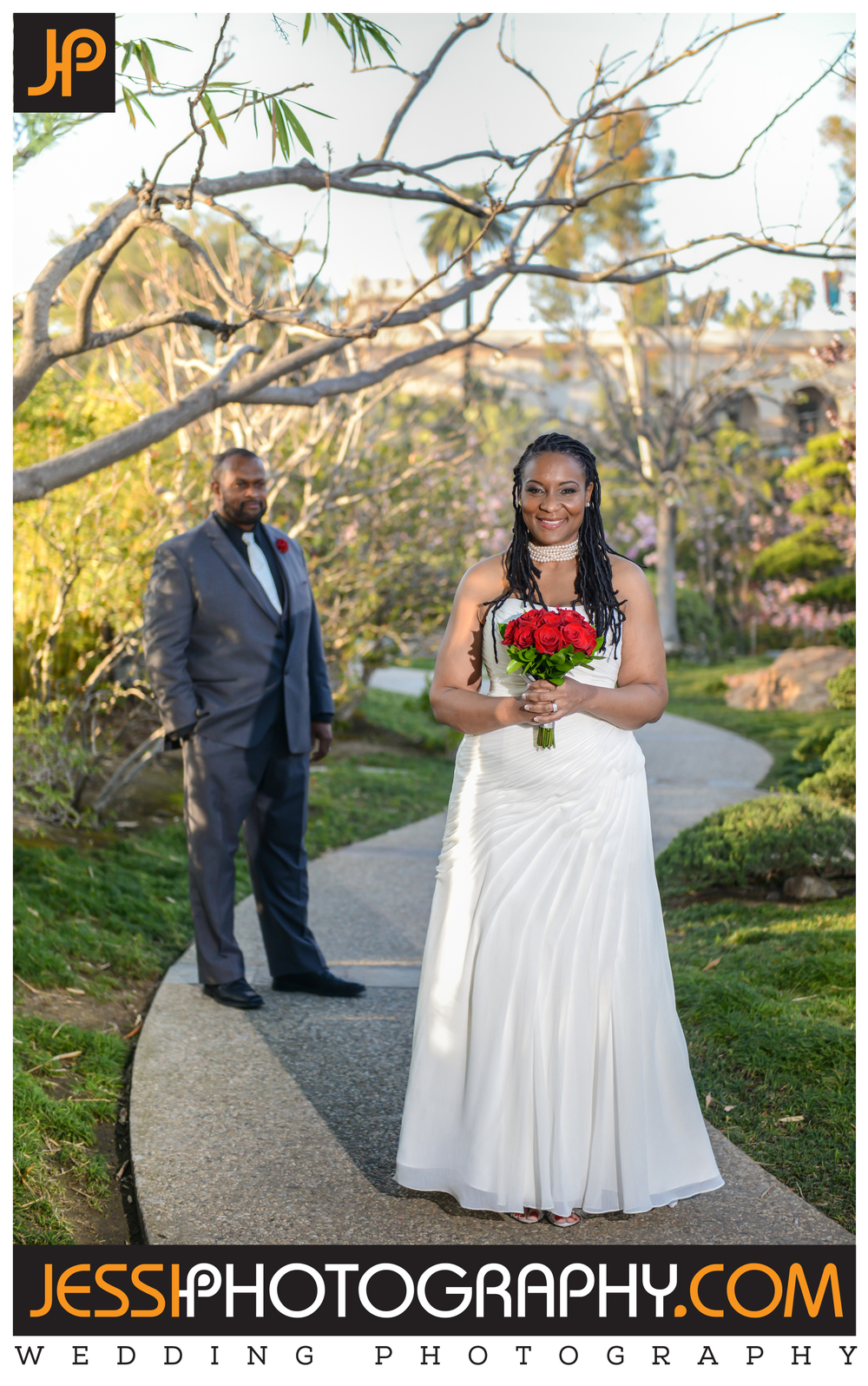 Best wedding portrait in the Japanese Garden