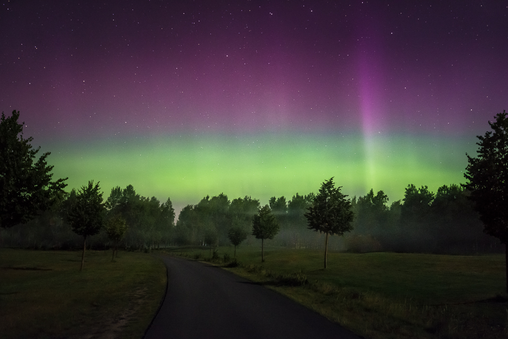 Aurora Borealis, Hanko Finland.