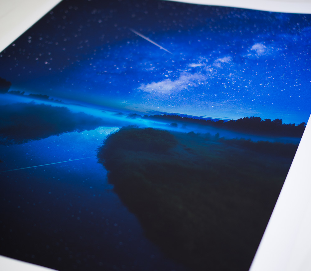 Mikko Lagerstedt - Print Giveaway - Print Sample - Night River