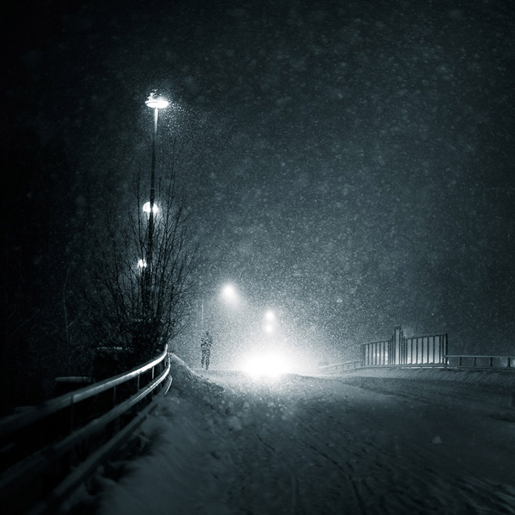After - Atmosphere Dark Blue Street
