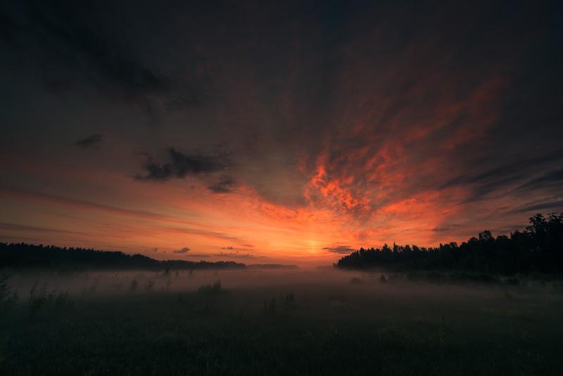 After Fog Preset - Vivid Sunrise