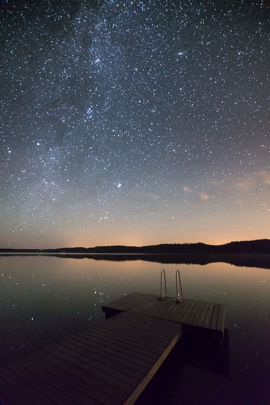 After - Star & Milky Way Presets - Horizon line