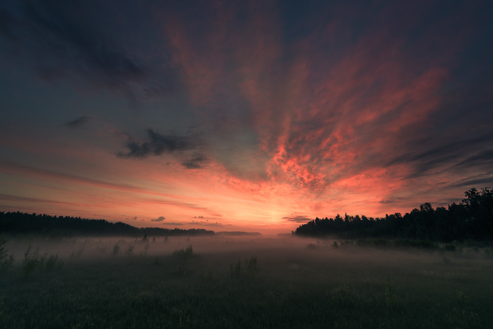 After Lightroom Preset, Vivid Sunrise - Dawn by Mikko Lagerstedt