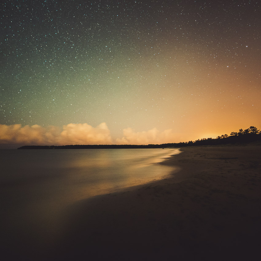 After - Beach at Night