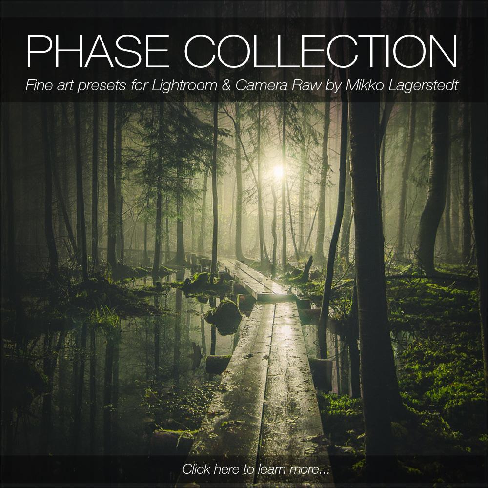 PHASE - Adobe Camera Raw Presets — Mikko Lagerstedt