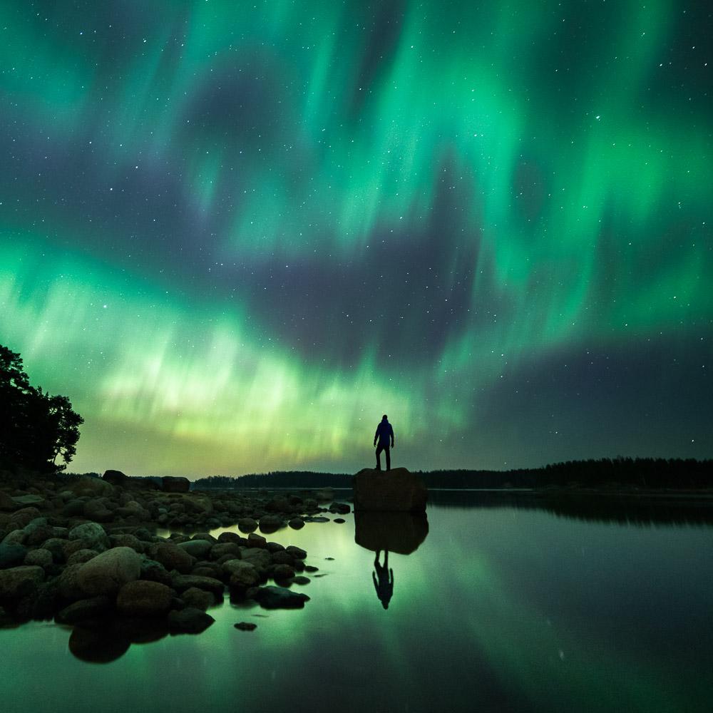 Mikko Lagerstedt - Illuminated Night - 2015 - Porvoo, Finland