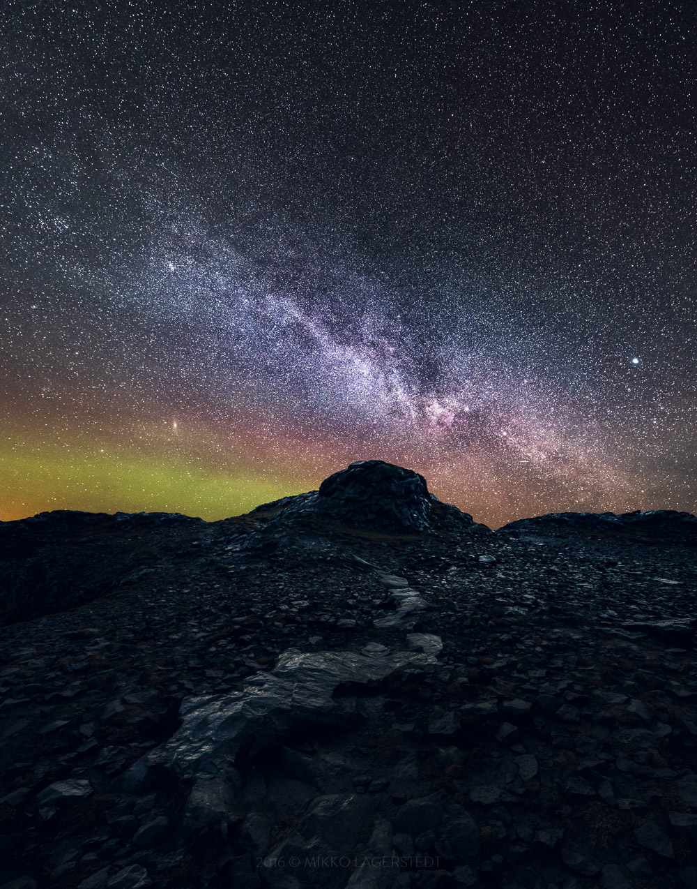 Path to the Milky way – Iceland, 2016
