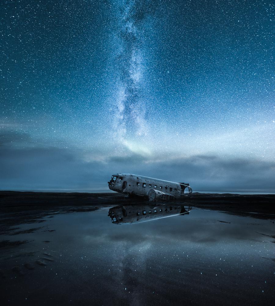 The Abandoned World –Sólheimasandur, Iceland – 2016