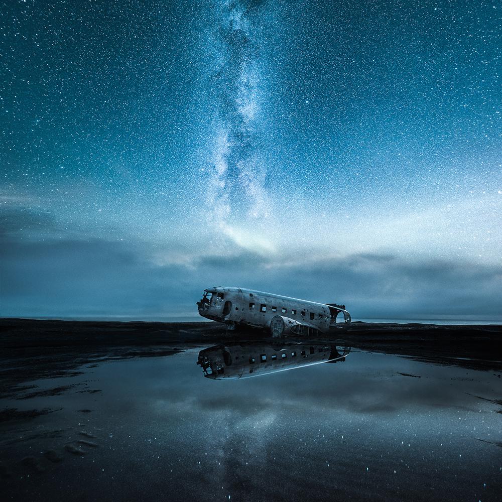 Abandoned World - Sólheimasandur,Iceland