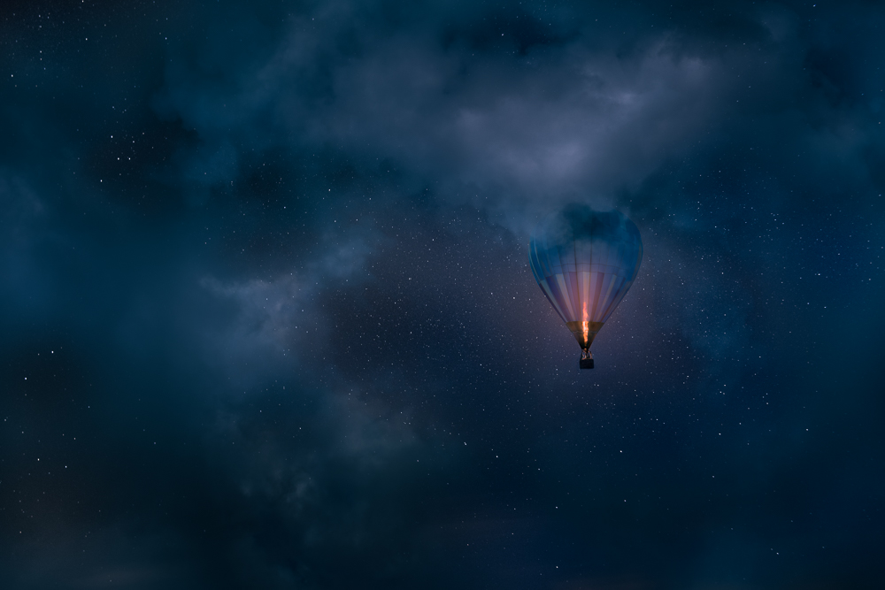 Mikko Lagerstedt - Night Flight - Background Photograph for Nokia's new phone
