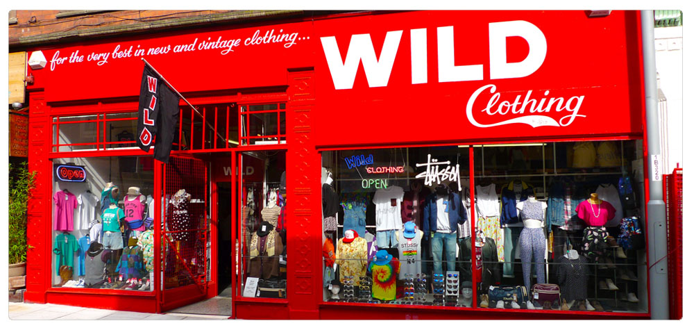 PHOTO FROM WILD CLOTHING - www.wildclothing.co.uk