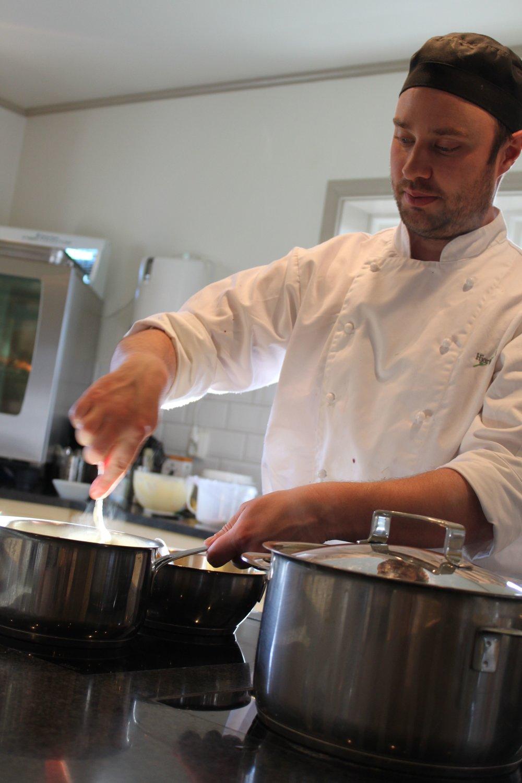 Matlagning med köksmästaren