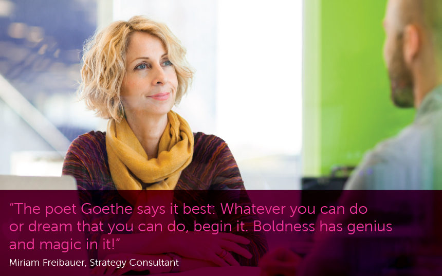 Miriam Freibauer, VP Strategy