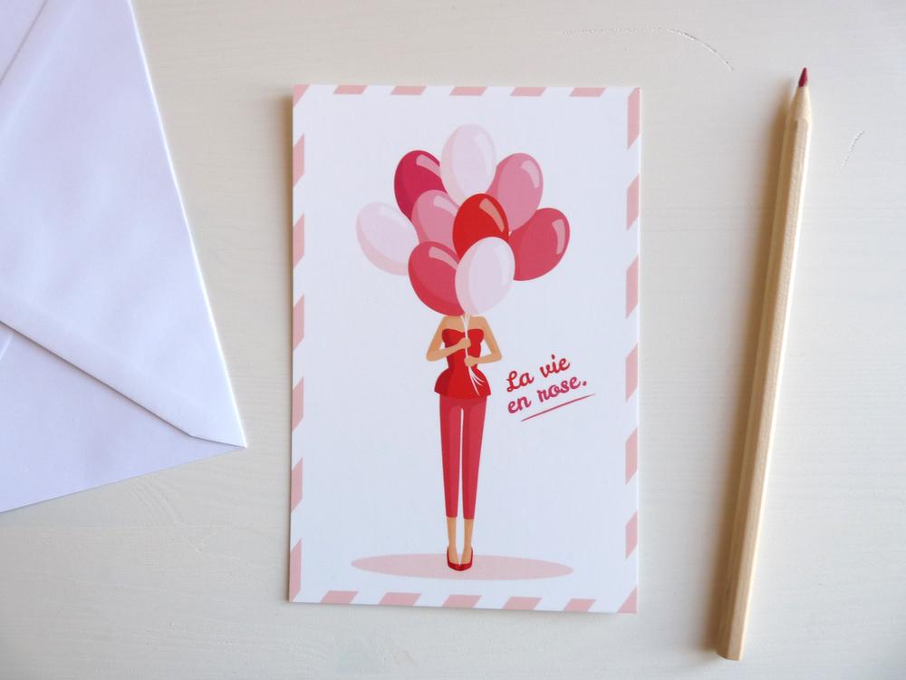 Girodet Charlene, La vie en rose