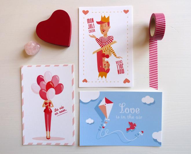 MySweetCarterie  - Carte postale