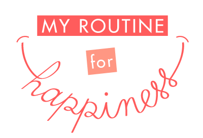 My Routine for Happiness - Logo