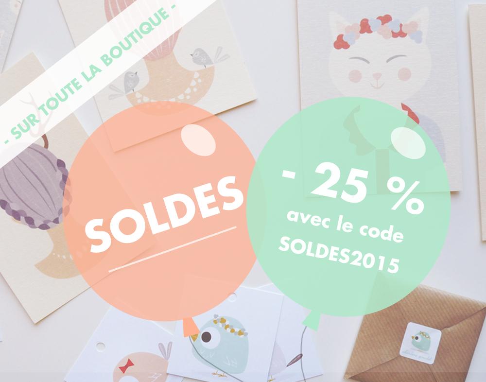 Soldes été 2015 - Charlène Girodet - Boutique
