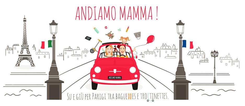 Bannière - Blog - Andiamo Mamma - Charlène Girodet - Graphiste