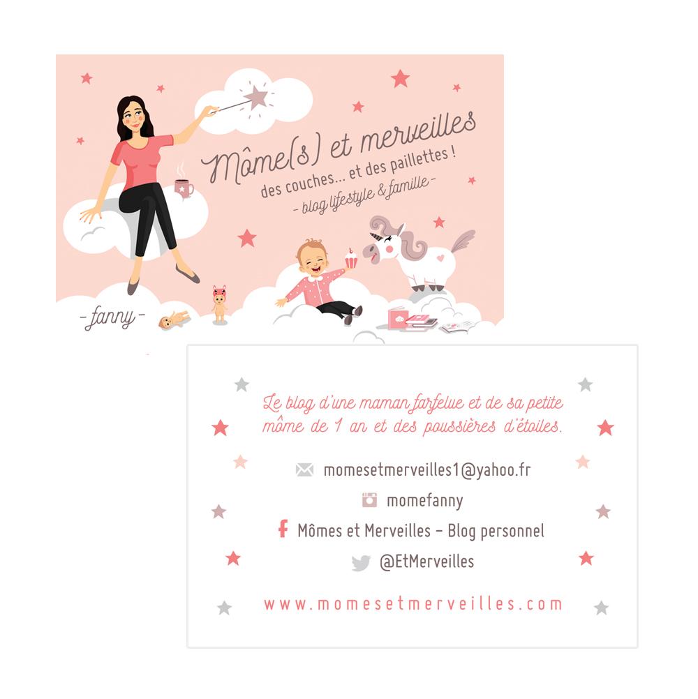 Carte de visite - Mômes (et) Merveilles - Charlène Girodet