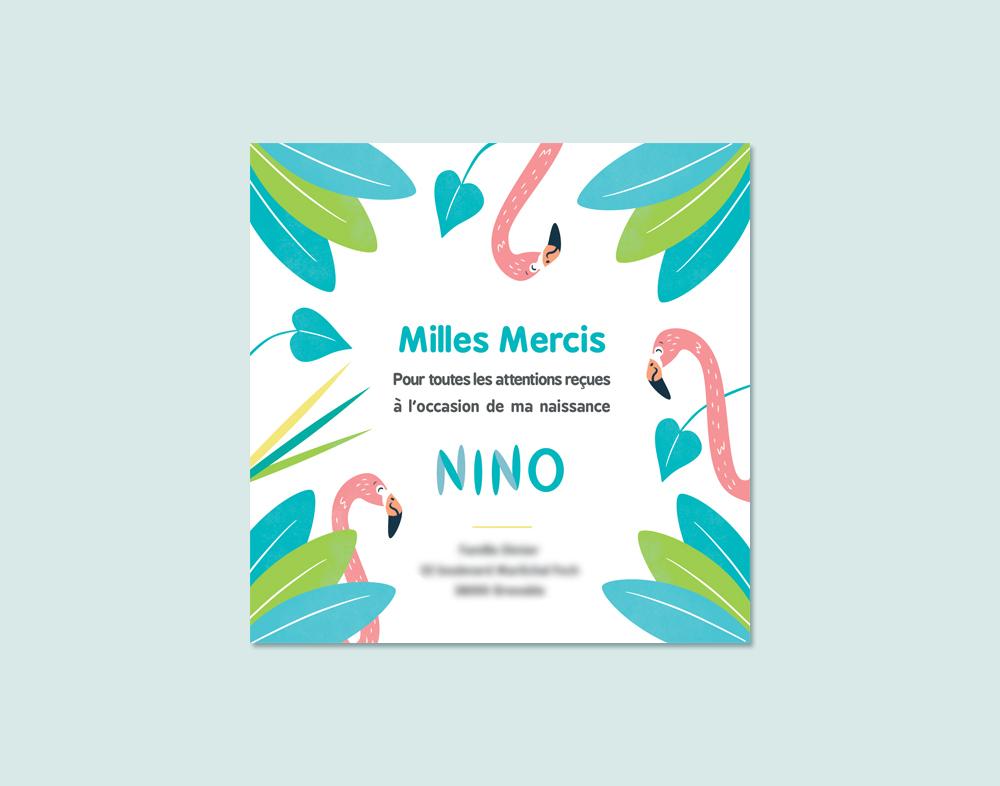 Faire-part naissance - Nino - Charlène Girodet