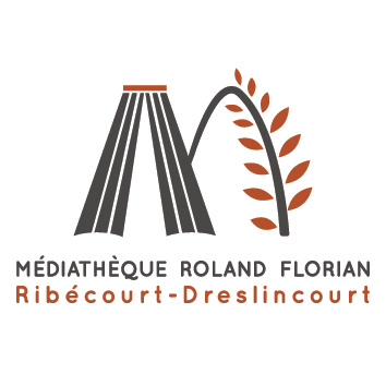 Médiathèque Roland Florian Ribécourt Dreslicourt Logo
