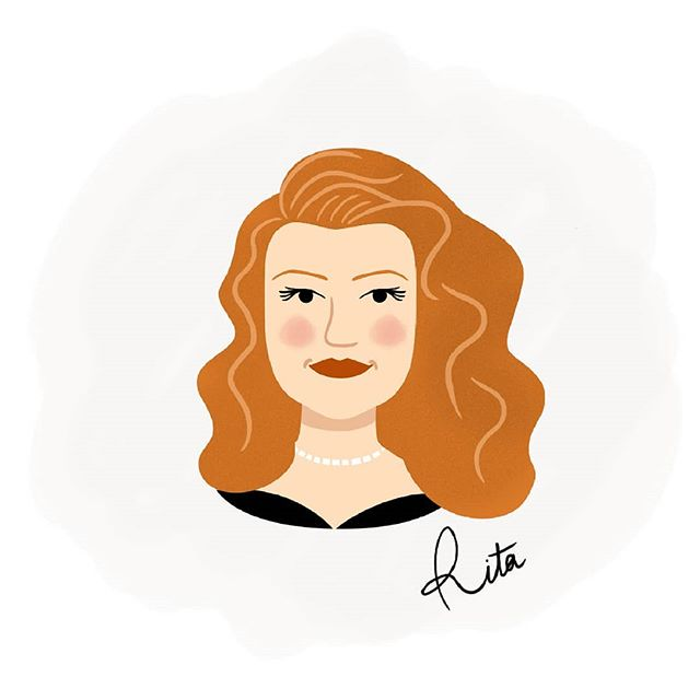 Rita Hayworth (1918-1987) - Je crois que je suis bien partie pour faire une série de portraits special anciennes stars d'Hollywood ! ❤ . . . #portraitdrawing #portraits #portrait #illustratrice #illustrator #illustration #drawing #art #graphicdesigner #graphiste #NosPetitesTêtes #ritahayworth #gilda #classichollywood #moviestar #movie #charlenegirodet #classicmovie #forties #40s #1940s #actress #actrice #oldhollywood #oldhollywoodmovies
